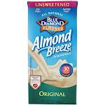 Blue Diamond Growers Almond Breeze Almond Milk Unsweetened Original 32 fl oz