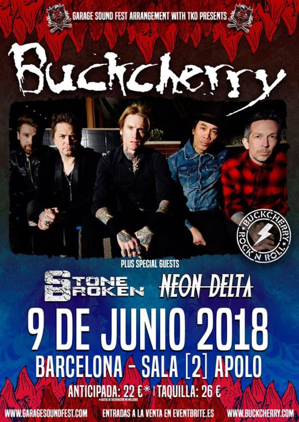 Buckcherry Barcelona