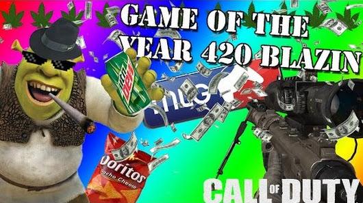 get shrekt nub game of the year 420blazeit tgnarmy