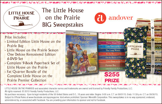 The Little House on the Prairie BIG Sweepstakes