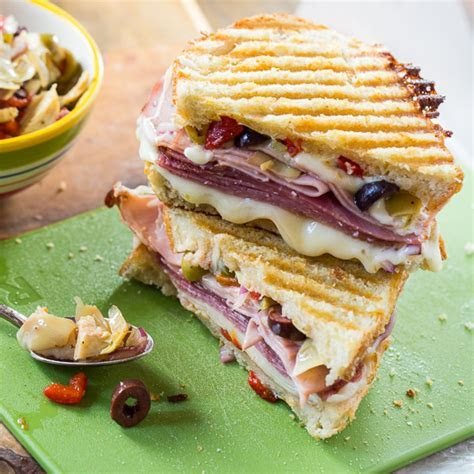 Foodista   Sensational Lunchtime Panini Recipes
