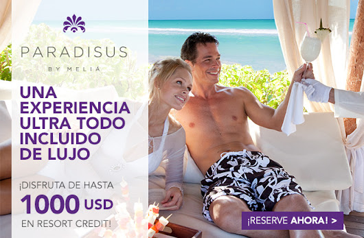 Paradisus Resorts Cuba - Resort Credit