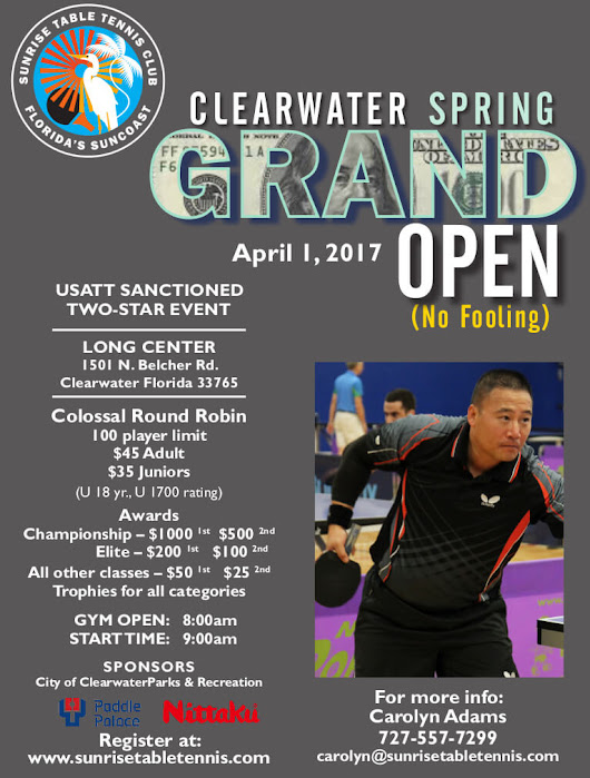Clearwater Spring Open - A Sport For A Lifetime