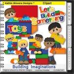Building Imaginations Clipart - CU