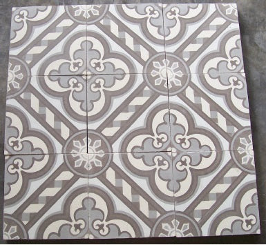 8x8 Cathedral Cement Tile