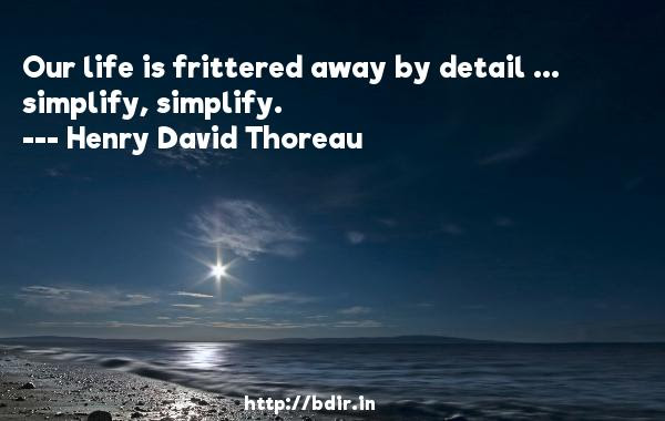 Top 50henry David Thoreau Quotes Whatsapp Status Page 1 Bdirin
