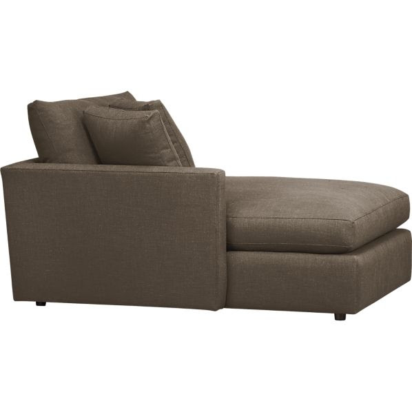 Lounge Left Arm Sectional Chaise in Daybeds, Chaises | Crate and ...