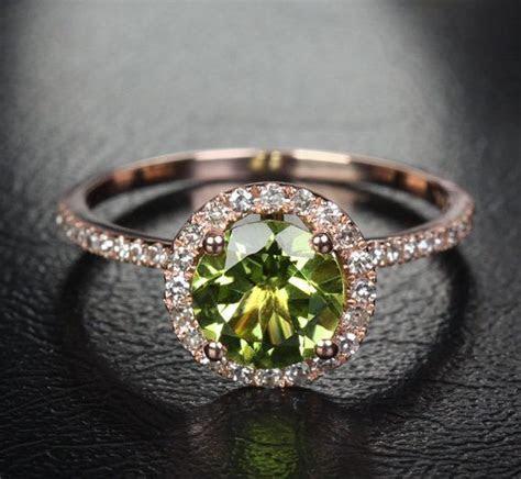 Best 25  Peridot engagement rings ideas on Pinterest