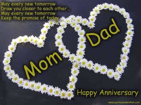 happy anniversary mom and dad quotes   Happy Anniversary