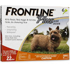 Frontline Plus for Dogs, Small - 6 count