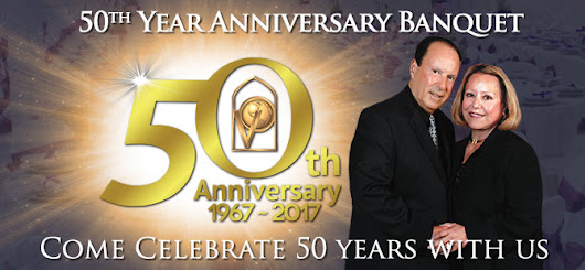 50th Year Anniversary Banquet