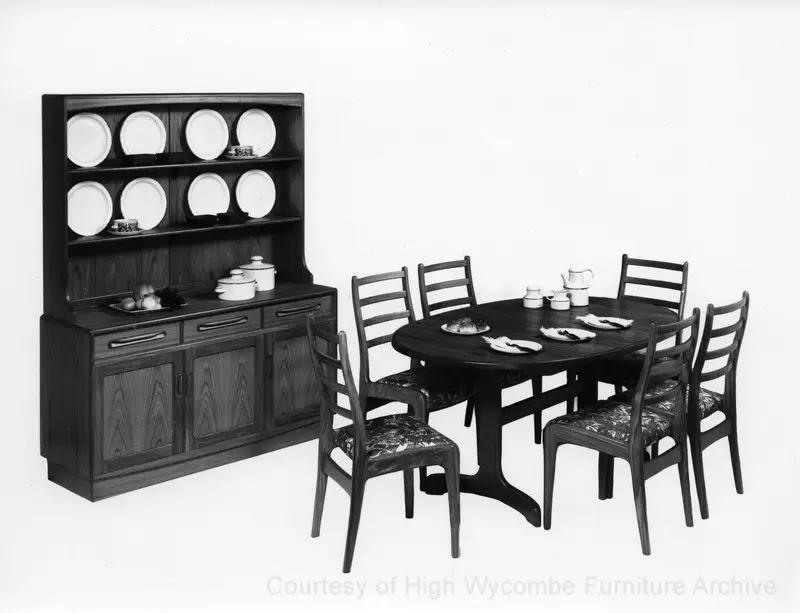 Vintage G-Plan cabinet furniture ranges (1970 to 1979)