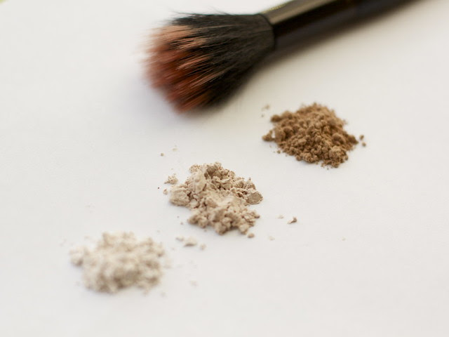 Cornstarch face powder