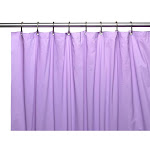 Carnation Home Fashions Hotel Collection 8-Gauge Vinyl Shower Curtain Liner with Metal Grommet