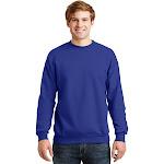 Hanes ComfortBlend EcoSmart Crew Sweatshirt Deep Royal