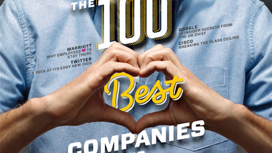 Fortune reveals the 100 best companies to work for