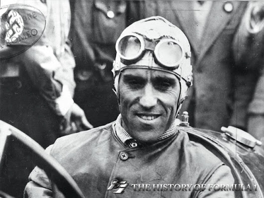 Tazio Nuvolari is another candidate for the world's finest driver honours, al...