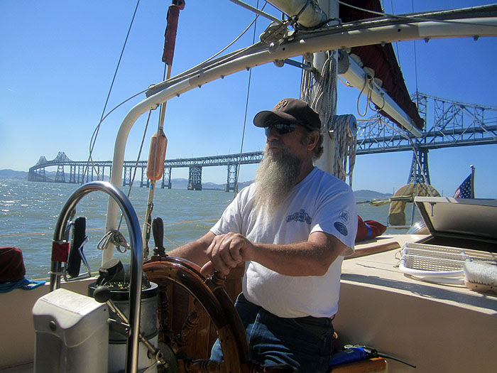 Dad at the Helm