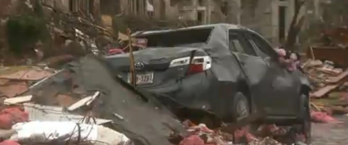 EU: Fuertes tormentas dejan al menos cuatro muertos y dañan edificios