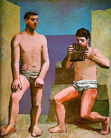 Flauta de Pan, de Picasso
