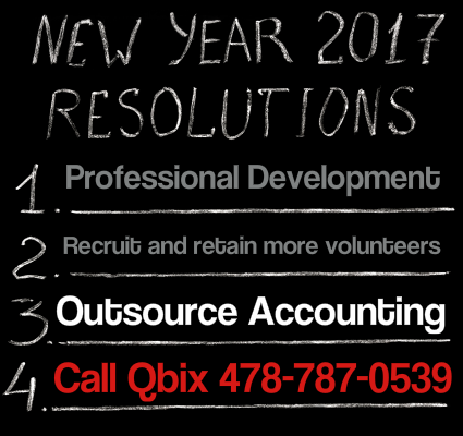 The Most Important 2017 New Year's Resolution for Your Nonprofit | Qbix Accounting Solutions