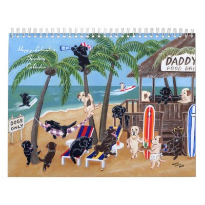 Happy Labradors Sporting Calendar