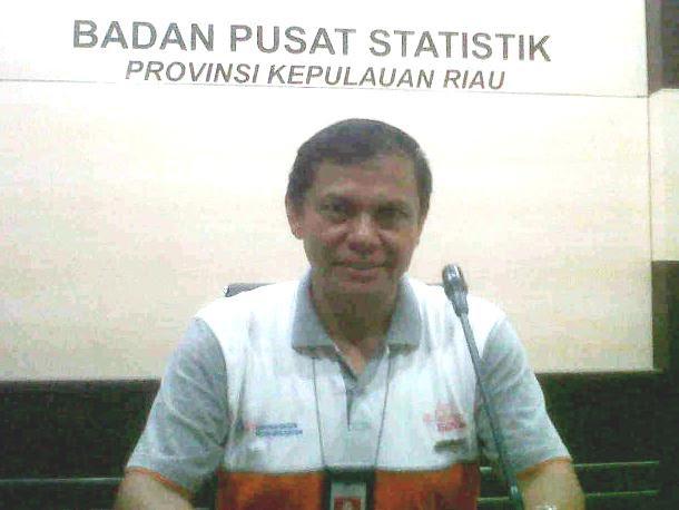 Kepala BPS Kepri Dumangar Hutauruk