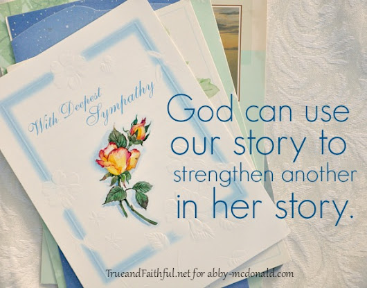 How God Uses Our Story {Rays in the Storm Series}
