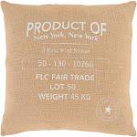 """Circa Pillow Cover - Wheat, White - CIR006 Circa - 20"""" x 20"""" Pillow Cover - Knife Edge - CIR006"""