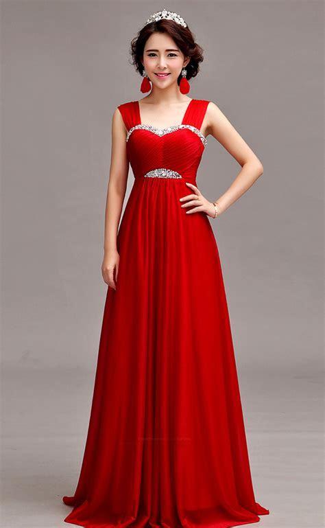 Sleeveless Silk Chiffon Floor Length A Line Evening Gown