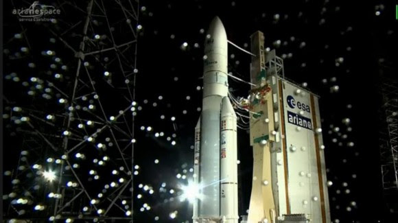 ARSAT-1. Así lanzaron al espacio al primer satélite argentino.