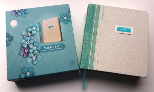 Are You Ready To THRIVE? Journaling Bible Review & Giveaway