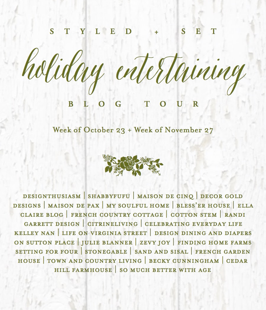 Holiday entertaining logo