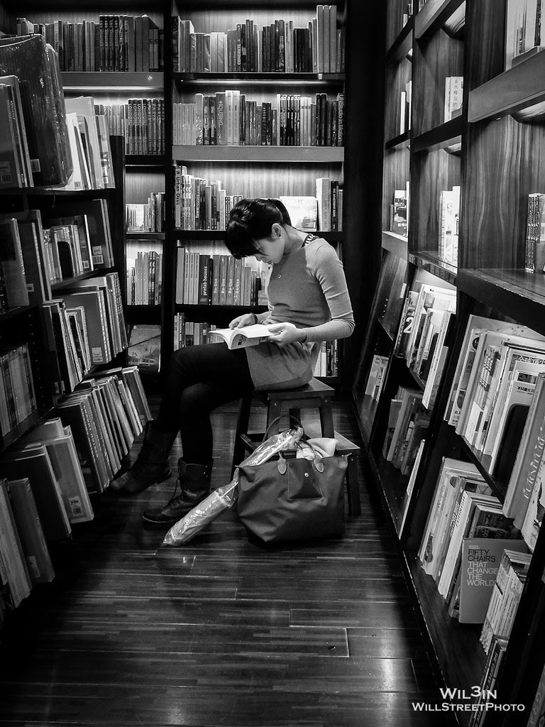 Reading (B&W version)
