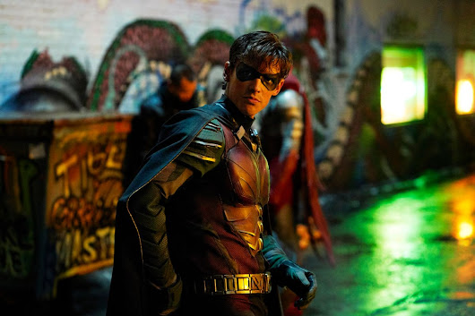 "'Titans' star says ""f*ck Batman"" line was added during reshoots to ""set the tone"" for the show"
