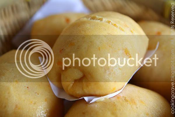 Sweet Potato Steamed Buns 1