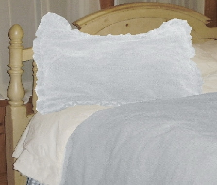 Light Blue Chenille Comforter Set (available in Twin to California ...