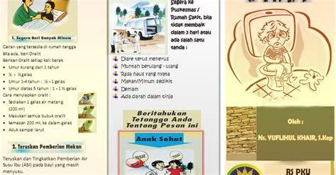 leaflet diare  anak ebooks yuflihul khair