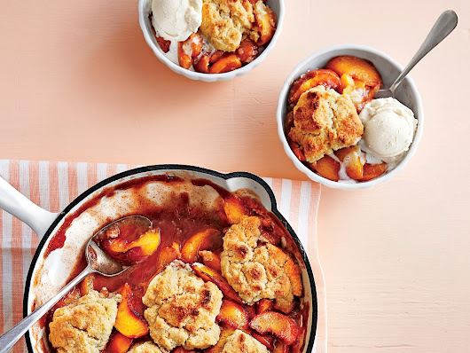 Grilled Peach Cobbler - recipes and cooking guide