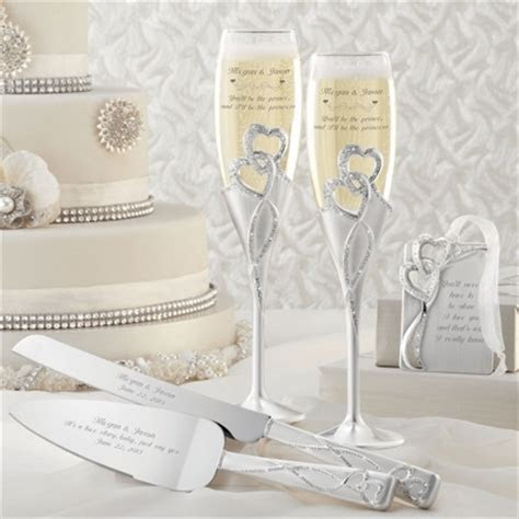Win: Engraved Wedding Set from Things Remembered   Wedding