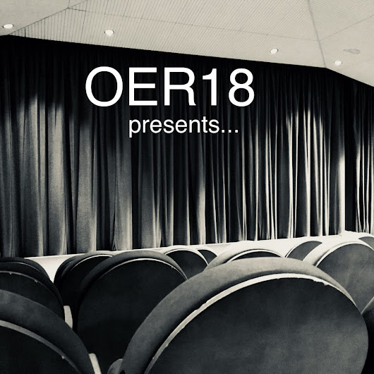 #OER18 Keynotes preview review