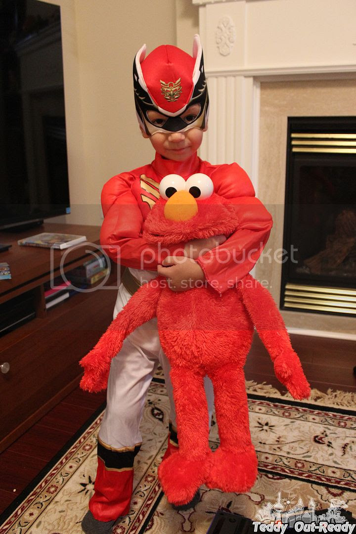 Teddy Big Hugs Elmo Halloween