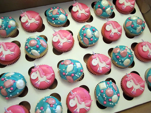 Unicorn Birthday Cupcakes