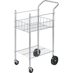 Fellowes - Trolley - steel wire - silver