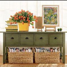 Book Baskets on Pinterest