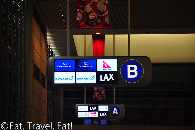 Hall B- TBIT, LAX Sign