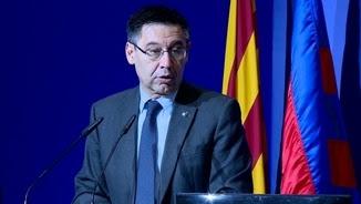 Josep Maria Bartomeu en una imatge d'arxiu