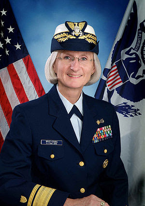 Rear Admiral Sally Brice-O'Hara, Commander Uni...