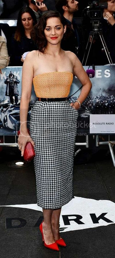 Marion Cotillard The Dark Knight Rises London Premiere