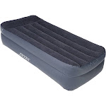 Intex Twin Air Mattress with Built-in Pump and Pillow